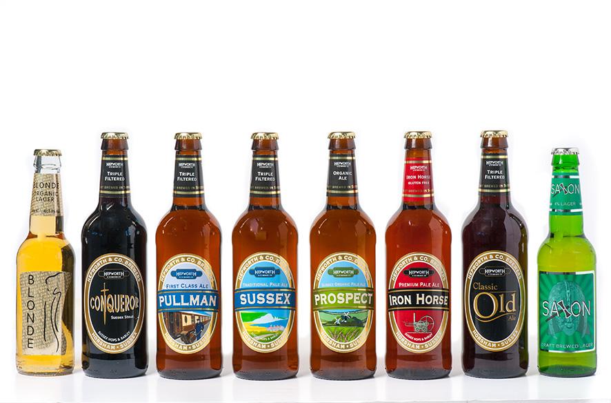 Hepworth bottle labels